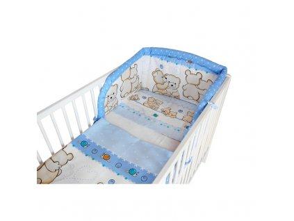 Cosing 3-dílné dětské povlečení 100x135cm - Dva medvídci zelená