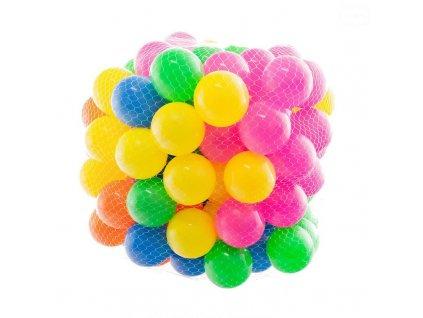 Eurobaby barevné míčky 100ks - 6 cm