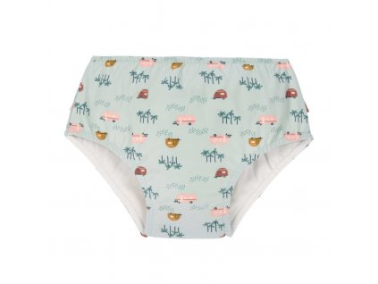 Lässig dívčí plavky Swim Diaper Girls caravan mint 12 mo.