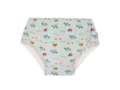 Lässig dívčí plavky Swim Diaper Girls caravan mint 24 mo.