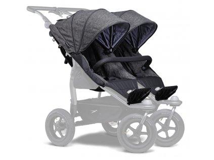 TFK sportovní sedačky stroller seats Duo prem. anthracite