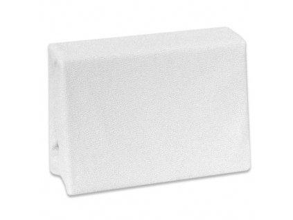 Nepropustné froté prostěradlo Cosing do postýlky - 120x60 cm - bílé