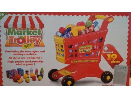 EUROBABY Nákupní vozík s doplňky 16671