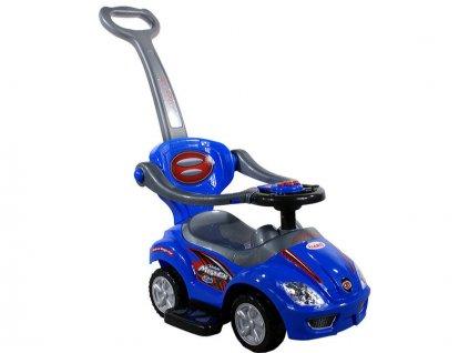 Baby Mix odrážedlo auto 3v1 – Modré