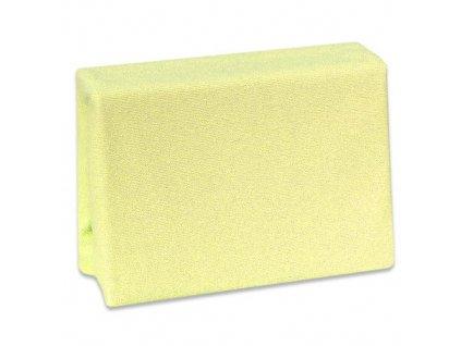 Prostěradlo Cosing do postýlky froté na gumu - 120x60 cm - žluté