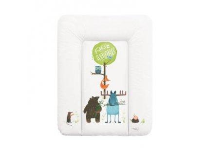 CEBA BABY Přebalovací podložka měkká 70 x 50 cm - Dream puntíky bílá