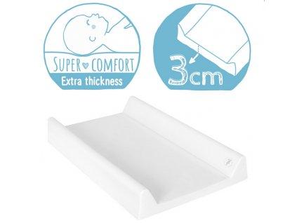 Ceba Baby přebalovací podložka pevná tvarovaná 80x50cm - Giraffe