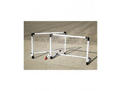 Kinderplay fotbalové branky 2v1 (62x42cm) s pumpičkou