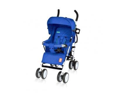 Bomiko golfový kočárek model XL 2019 - 03 modrý  + Reflexní náramek zdarma
