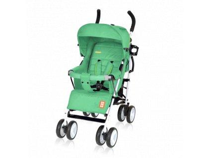 Bomiko golfový kočárek model XL 2019 - 04 zelený  + Reflexní náramek zdarma