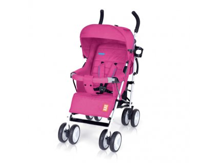 Bomiko golfový kočárek model XL 2019 - 08 růžový  + Reflexní náramek zdarma