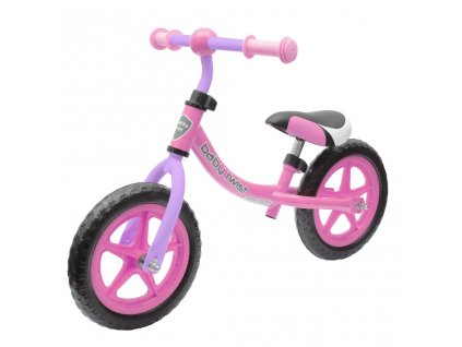 Milly Mally dětské odrážecí kolo s brzdou Dragon – Fialové