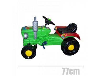 Šlapací traktor Retro
