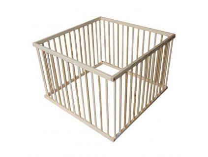 Cosing dřevěná ohrádka pro děti buk - 100x100 cm