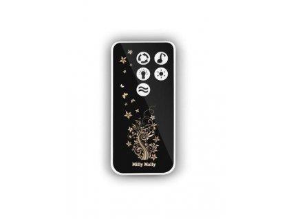 GRAPI Dřevěná kolébka pro miminko s vybavením a matrací - Beige stripe 952
