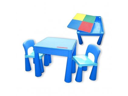 detska sada mamut stolecek a 2x zidlicka
