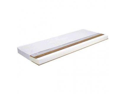 DANPOL Dětská matrace kokos/molitan/kokos 120 x 60 x 8 cm LUX - bílá