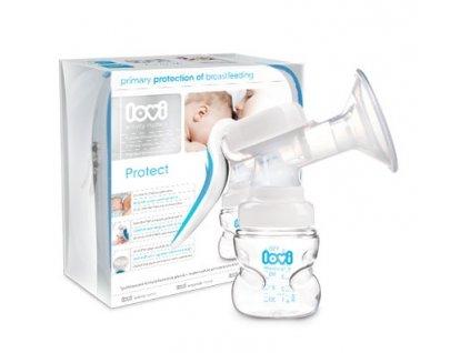 LOVI Odsávačka mateřského mléka Protect - dvoufázová ruční páková