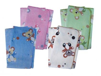 Duetbaby dětská deka do kočárku - č.601 medvídci