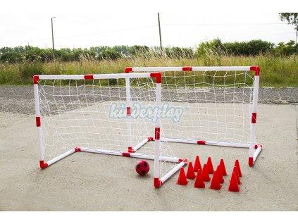 Dětské fotbalové branky Kinderplay 120x55x80cm