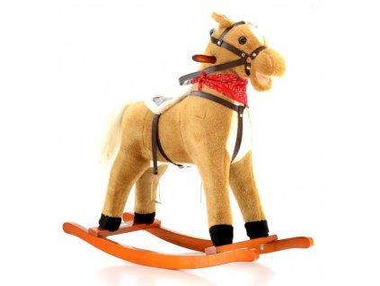 EUROBABY Houpací kůň EB 703 - Hnědý