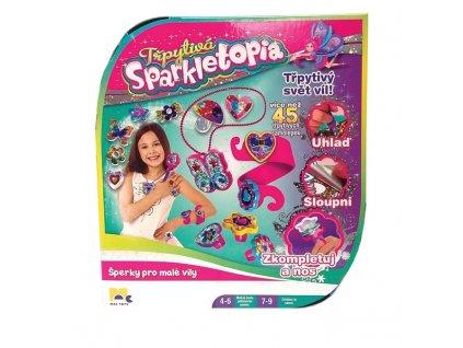 Mac Toys Třpytivá Sparkletopia zdobení šperků