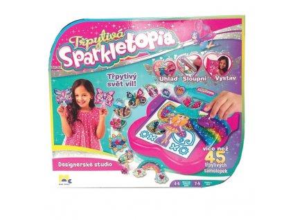 Mac Toys Třpytivá Sparkletopia - Designové studio víl