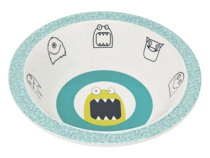 Lässig dětská miska - Little Monsters bouncing bob