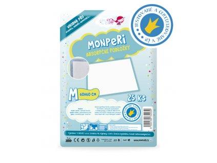 MonPeri absorpční podložky M 25 ks (60x60cm)