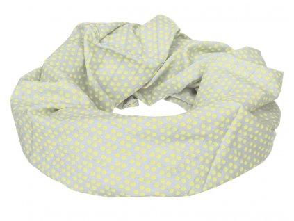 Lässig kojící šátek Nursing Loop - dottie