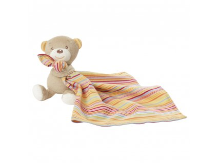 BABY FEHN Rainbow medvídek s muchláčkem