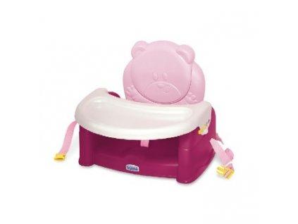WEINA židlička ke stolu TEDDY BEAR, růžová