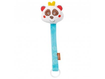 BABY FEHN Jungle hračka na dudlík panda