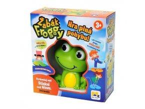 MAC TOYS Pohybová hra Žabák Froggy