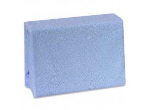 Prostěradlo Cosing do postýlky froté na gumu - 120x60 cm - modré