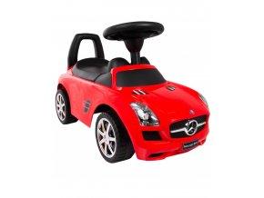 Baby Mix odrážedlo Mercedes-Benz – Červené