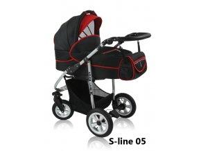 Kombinovaný kočárek Prampol Solam 2015 – S-line 05 (komplet s autosedačkou)