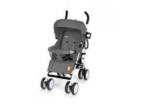 Kočárek Bomiko model XL 2017 - 07 šedý