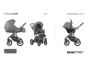 Kočárek Bebetto Holland 2015 (Barevn? varianta LJ195)