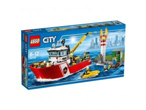 LEGO City 60109 -  Hasičský člun