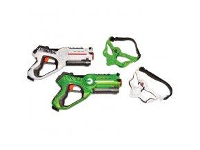 Wiky laser game TERRITORY duo pack - Zelená/bílá