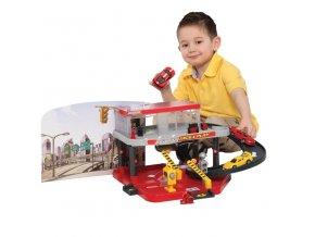 BBURAGO Ferrari Race & Play Auto Service Centre s 1 autíčkem