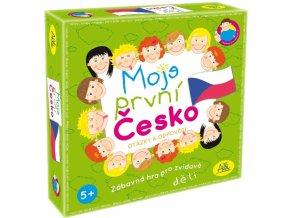 Společenská hra -  Moje první Česko