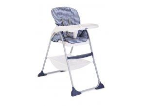 Joie jídelní židlička Mimzy Snacker - denim