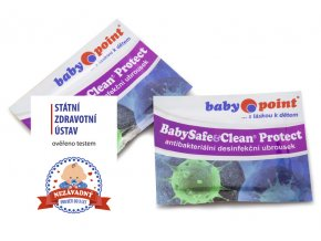Babypoint dezinfekční ubrousek BabySafe&Clean Protect