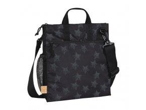 Casual Buggy Bag - Reflective Star black