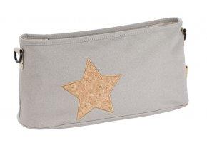 Casual Buggy Organizer - Cork Star light grey