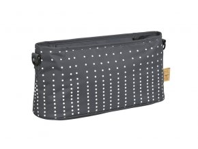 Casual Buggy Organizer - Dotted lines ebony