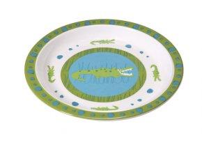 Lässig dětský talíř – Crocodile granny