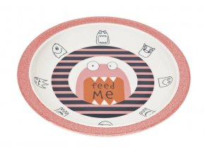 Lässig dětský talíř - Little Monsters mad mabel
